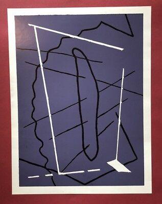 Pidder Auberger, ohne Titel (Werknr. 105), Farbhochdruck, 1990, handsigniert
