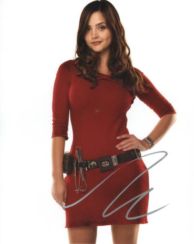 JENNA COLEMAN SIGNED 8X10 PHOTO DOCTOR WHO AUTHENTIC AUTOGRAPH COA C