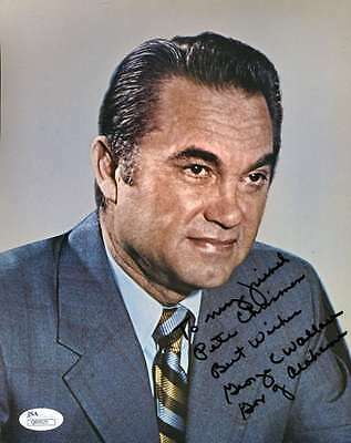 GEORGE WALLACE JSA COA HAND SIGNED 8X10 PHOTO AUTHENTIC AUTOGRAPH