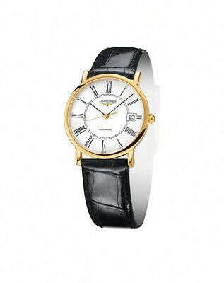 Longines Mens New 18k solid Gold Automatic watch