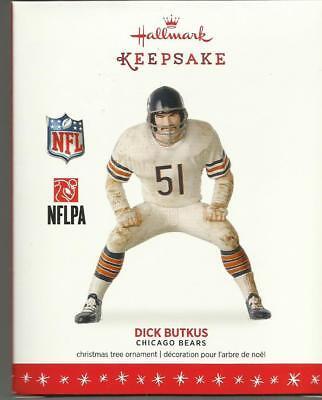 Hallmark Ornament Dick Butkus Chicago Bears NFL NFLPA 2016 New in Box