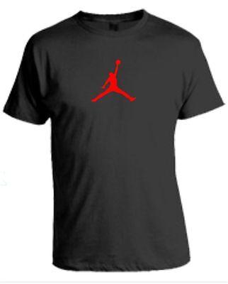 BASKETBALL T-Shirt  UNOFFICIAL Mens Vest Top Jumpman NBA Bulls Michael Jordan