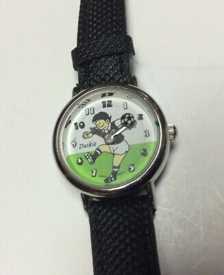 Duckie animated soccer watch, youth size,rarely worn if ever,new battery