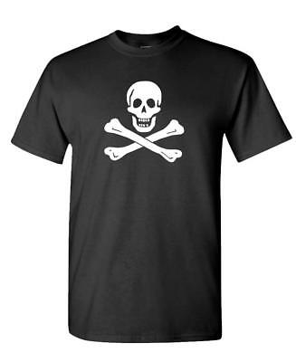 EDWARD ENGLAND PIRATE - Unisex Cotton T-Shirt Tee Shirt