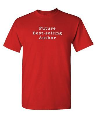 Future BEST SELLING AUTHOR - Unisex Cotton T-Shirt Tee (Best Selling T Shirts)