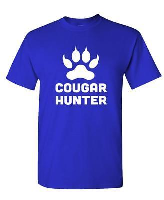 COUGAR HUNTER - Unisex Cotton T-Shirt Tee Shirt - Cougar Hunter Shirt