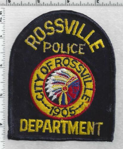 Rossville Police (Georgia) 1st Issue Shoulder Patch