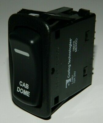New Carling Rocker Switch Cab Dome Light Switch L16b1 7 Pin 3 Position Switch