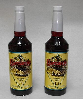 2 Pack Gourmet Cherry Syrup 32oz. Coffee Drink Italian Soda Flavor