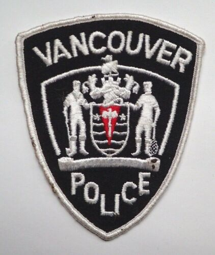 Vintage Vancouver Police Patch - OBSOLETE!
