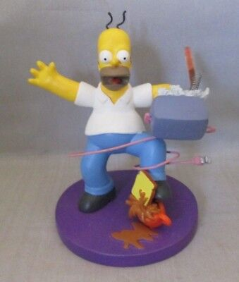 "Simpsons ""Morning Jolt"" ~ Misadventures of Homer Sculpture Collection"