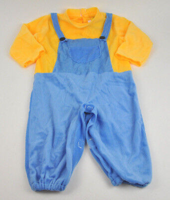 Rubies DESPICABLE ME Toddler Kids' MINIONS Bob JUMPER Halloween COSTUME Overalls