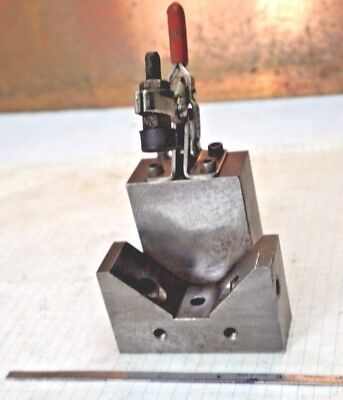 Hold Down Action Clamp - V-Block Clamp 2