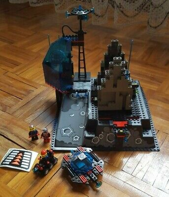 RARE 1994 LEGO 6959 SPYRUS LUNAR LAUNCH SITE COMPLETE W/ INSTRUCTIONS AND BOX