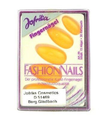 Jofrika 16819 Fashion Nails künstliche Fingernägel neon orange