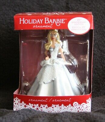 25th Anniversary Edition Holiday Barbie Christmas Ornament 2013 American Greetin
