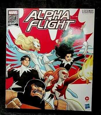 Marvel Legends: Alpha Flight 6pk Action Figures collection BNIB