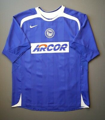 4.9/5 Hertha Berlin jersey 2005 2006 football soccer home shirt size XL Nike image