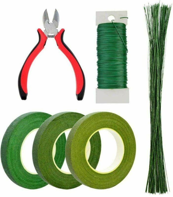 6 Pcs Floral Arrangement Tool Kit Floral Stem Wire for Bouquet Stem Wrap Florist