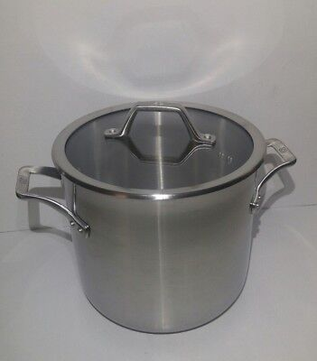Calphalon AcCuCore Stainless Steel Copper Core 8 Qt. Stock Pot with Cover New!