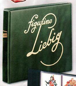 Album-FIGURINE-LIEBIG-CON-CUSTODIA-E-20-FOGLI-A-6-TASCHE