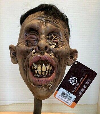 GHOULISH PRODUCTIONS SHRUNKEN HEAD B-2 HALLOWEEN PROP LIFE SIZES COSPLAY (Head Halloween Prop)
