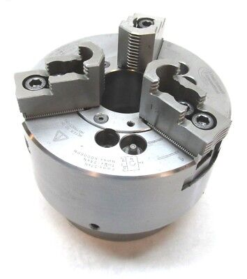 Pratt Burnerd 170mm Three-jaw Cnc Lathe Power Chuck W A2-5 Mount - 9827-18150