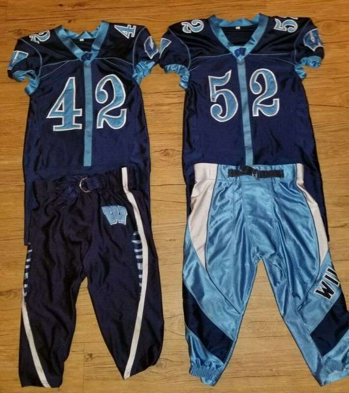 Football Uniforms Halloween Costumes Embroidered Numbers Youth XL & L