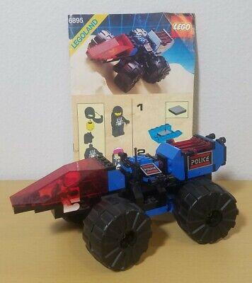 LEGO Space Police 6895Spy-Trak I Complete w/Instructions No Box Vintage 1989