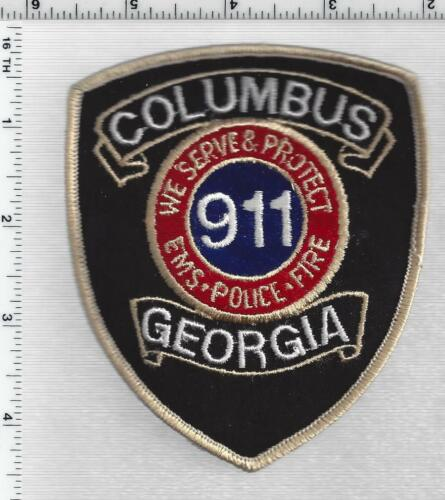 Columbus Police 911 (Georgia) 1st Issue Shoulder Patch