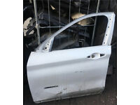 BMW X3 2016 Passenger side front door needs minor repair