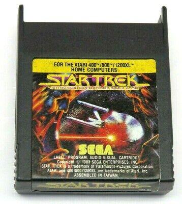 STAR TREK: STRATEGIC OPERATIONS SIM (Atari 400/800/XL/XE, 1983) (Cartridge) #2