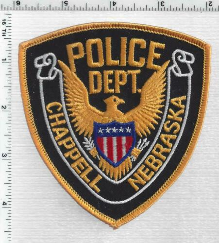 Chappell Police (Nebraska) 1st Issue Shoulder Patch