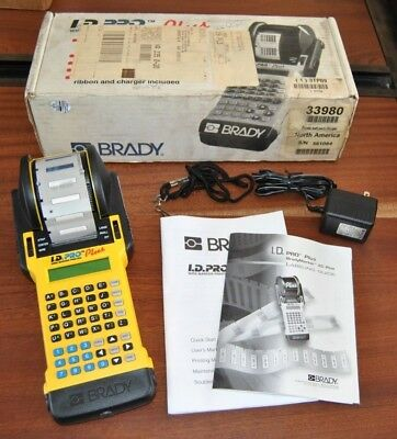Brady Id Pro Plus Wire Marker Printer