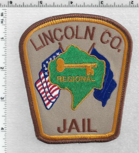 Lincoln County Jail  (Kentucky) 1st Issue Shoulder Patch