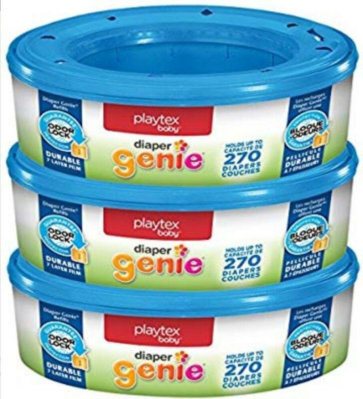 Playtex Diaper Genie Pail Refills (case of 3 - X0039500)