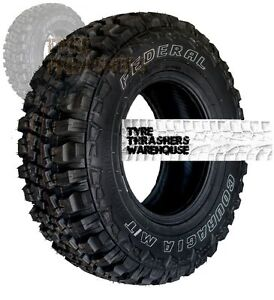 4 Mud terrain 4x4 tyres 235/75/R15 MT 235 75 R15 LT Couragia off/on road new