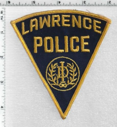 Lawrence Police (Indiana) 1st Issue Shoulder Patch
