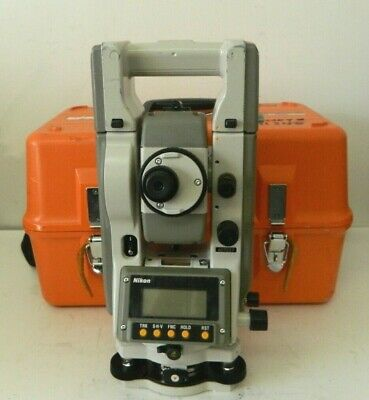 Nikon Top Gun C-100 Total Station Land Surveying Equipment W Case