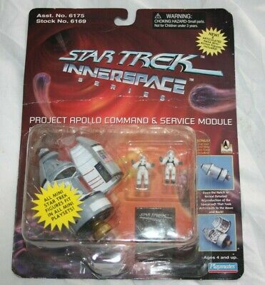 Star Trek - Innerspace - Apollo Command & Service Module - Boxed - Playmates