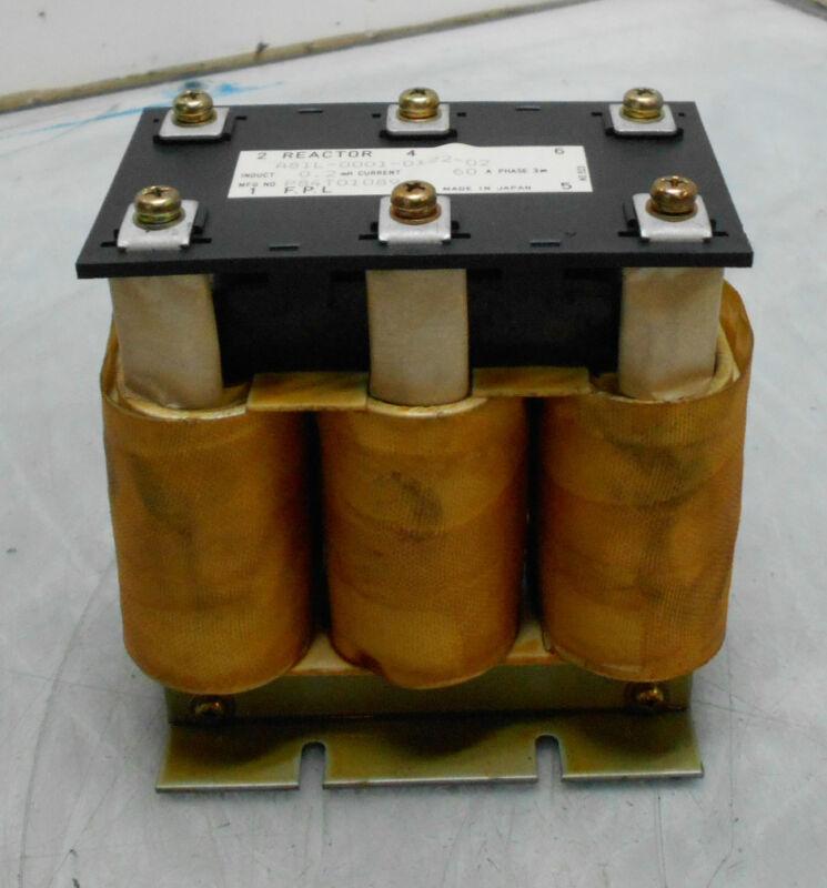 GE Fanuc Line Reactor Transformer, A81L-0001-0122 02, Used, WARRANTY