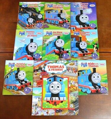 Lot 9 THOMAS THE TRAIN Story Reader me reader Friends Hardcover Look and Find T1