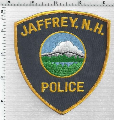 Jaffrey Police (New Hampshire) 2nd Issue Shoulder Patch