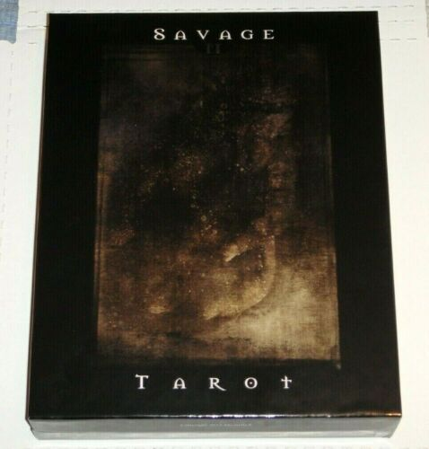 Savage Tarot II - Michelle X. Rare Deluxe Kit: 78-Cards, Book & Pouch w/Box. NEW
