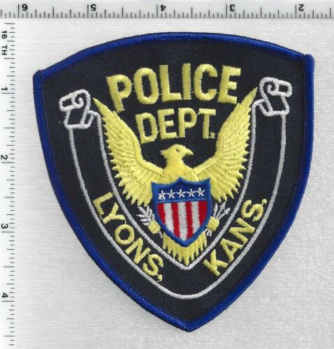 Lyons Police (Kansas) 1st Issue Shoulder Patch