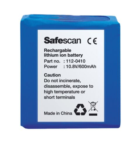 SafeScan LB-105 Rechargeable Battery for 185-S Detector