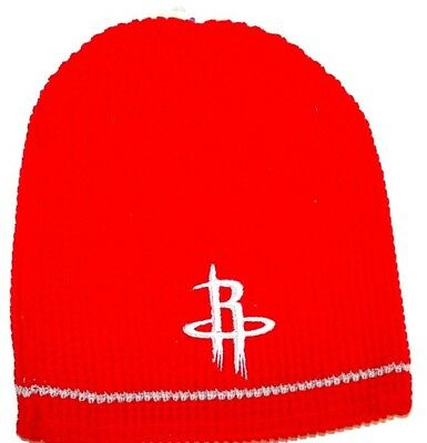 Basketball Reversible Beanie (Houston Rockets NBA Licensed Basketball Reversible Team Logo Winter Hat Beanie)