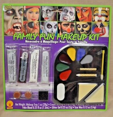 Super Family FUN Costume Halloween Party Stage Play Makeup Make Up Kit - Fun Makeup Halloween Costumes