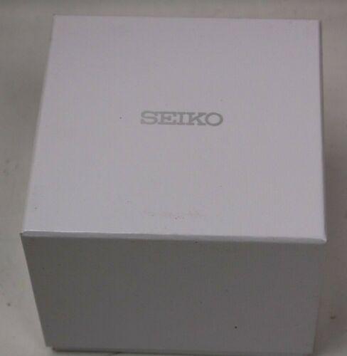 Seiko Uhrenbox weiß Uhrenetui zur Aufbewahrung einer Armbanduhr NEU