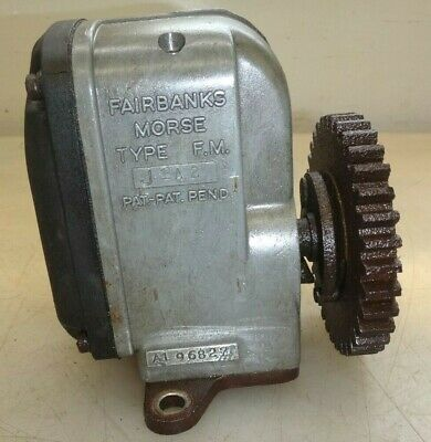 Fairbanks Morse Type J Magneto Wgear Impulse For 3hp Or 6hp Fm Z No. A196827
